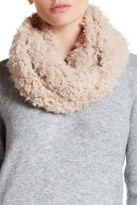David & Young Cozy Plush Faux Fur Infinity Scarf