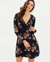 Only Jenny Short Wrap Dress