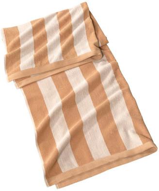 "Classic Turkish Towels Jumbo Turkish Cotton Cabana Beach Towel, Ivory, 35""x70"", 2 Tones Caban"