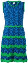M Missoni zig zag pattern dress - women - Cotton/Polyamide/Polyester - 38