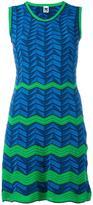M Missoni zig zag pattern dress - women - Cotton/Polyamide/Polyester - 44