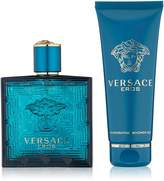 Gianni Versace Eros 2 Pc. Gift Set (Eau De Toilette Spray 3.4 Oz, Invigorating Bath & Shower Gel 3.4 Oz) for Men, 3.4 fl. Oz.