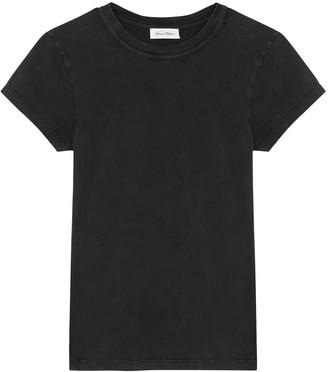 American Vintage Rompool charcoal cotton T-shirt