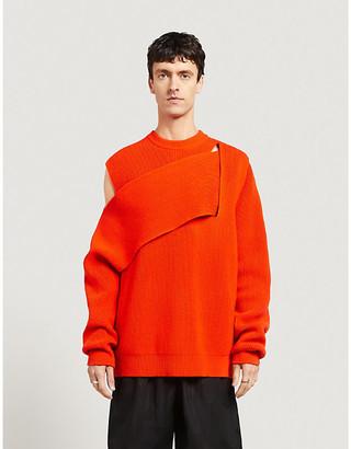 Bottega Veneta Asymmetric cashmere-blend jumper