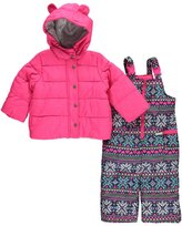 "Carter's Baby Girls' ""Snowfall Expected"" 2-Piece Snowsuit"