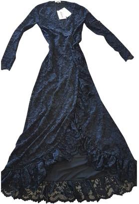 Ganni Navy Lace Dresses