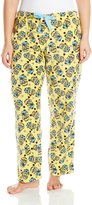 Despicable Me Women's Ladies Fleece Pant Minion Plus