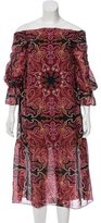 Rachel Zoe Silk Printed Dress w/ Tags