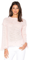Rebecca Taylor Tuck Stitch Pullover Sweater