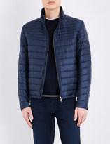 HUGO BOSS Zip-up quilted jacket