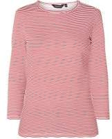 Dorothy Perkins Womens Red Striped Top