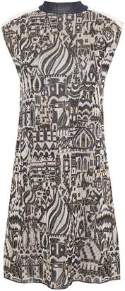 Missoni Metallic Jacquard-knit Mini Dress