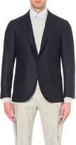 Brunello Cucinelli regular-fit checked virgin-wool jacket