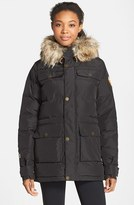 Burton Women's 'Essex' Waterproof Insulated Jacket With Faux Fur Trim