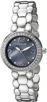 "Stuhrling Original Women's 922.02 ""Vogue Tresor"" Stainless Steel Swarovski Crystal-Accented Watch"