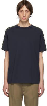 Fendi Blue Monster Eyes T-Shirt