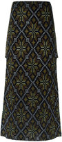 Cecilia Prado knit maxi skirt - women - Acrylic/Polyamide/Viscose - PP