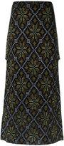 Cecilia Prado knit maxi skirt - women - Viscose/Acrylic/Lurex - PP