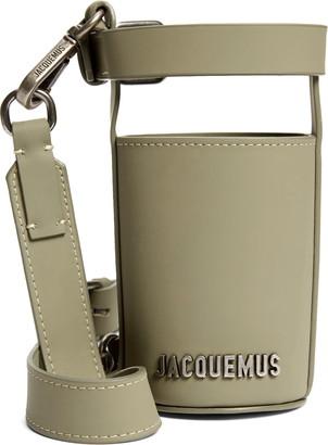 Jacquemus Le Porte Gourde Crossbody Leather Bottle Holder