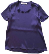 Marni Purple Silk Top for Women