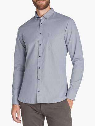 HUGO BOSS BOSS Magneton Slim Fit Long Sleeve Shirt, Dark Blue