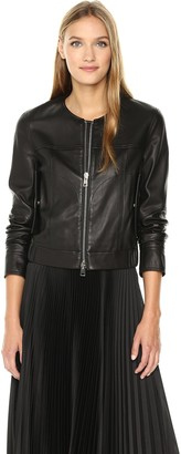 Theory Women's Onorelle_Noble Leath Jackets/Vests