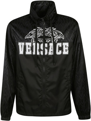 Versace Front Logo Detail Bomber