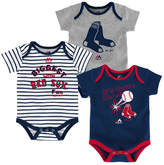 Majestic Boston Red Sox Homerun 3-Piece Set, Baby Boys (0-9 months)