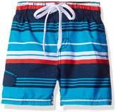 Kanu Surf Little Boys' Toddler Porta Stripe Swim Trunk