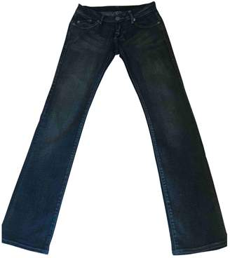 Victoria Beckham Blue Cotton - elasthane Jeans for Women
