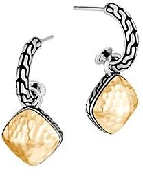 John Hardy Sterling Silver & 18K Yellow Gold Classic Chain Cluster Drop Earrings