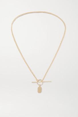 Loren Stewart + Net Sustain 14-karat Gold Necklace - one size
