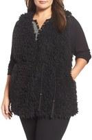Tart Plus Size Women's Gabriel Faux Fur Vest