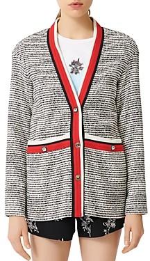 Maje Visala Tweed Jacket