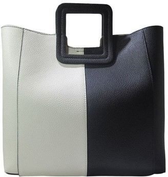 TMRW Studio Square Handle Color-Block Handbag