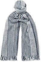 Missoni - Patterned Cotton Scarf
