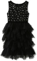 Biscotti Diamond Jubilee Tutu Dress (Big Kids) (Black) Girl's Dress