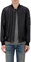 Rag & Bone MEN'S MANSTON LEATHER BOMBER JACKET