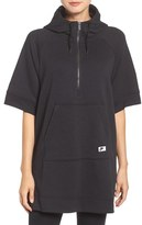 Nike Women's 'Modern' Hooded Terry Poncho