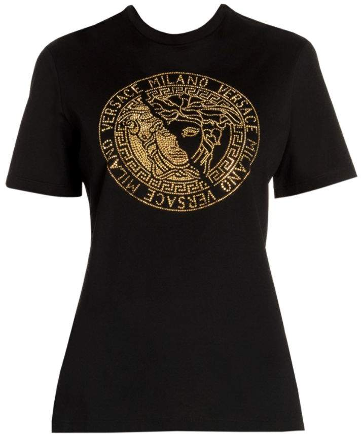 Versace Jeweled Medusa Tee