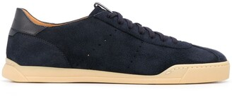 Santoni Low Lace-Up Sneakers