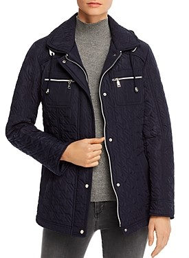 Vince Camuto Chevron-Quilted Jacket
