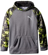 Puma Kids - Camo Print Color Block Hoodie Boy's Sweatshirt