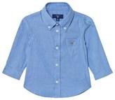 Gant Blue Oxford Stripe Shirt