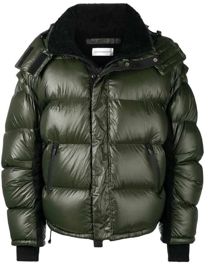 Faith Connexion hooded padded jacket