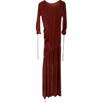 Sachin + Babi Orange Velvet Dress for Women