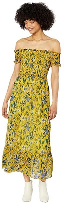 Sam Edelman Organic Garden (Yellow Multi) Women's Dress