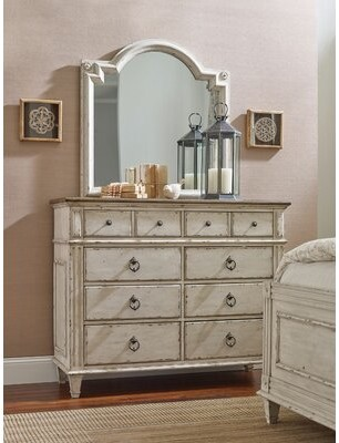 Ophelia & Co. Ismael 8 Drawer Double Dresser