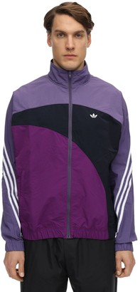 adidas OFF CENTER NYLON WINDBREAKER JACKET