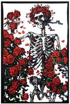 A Little Bit Hippy Roses Bertha Tapestry